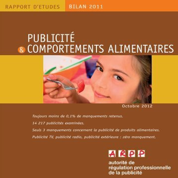Comportements alimentaires - ARPP