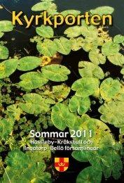 Sommar 2011 - Ingatorp-Bellö församlingar