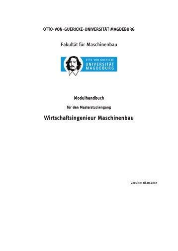 Modulhandbuch