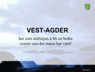 VEST-AGDER - Norvegfinans