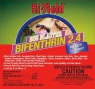 Hi-Yield Bug Blaster Bifenthrin 2.4 RTS Label - Do My Own Pest ...