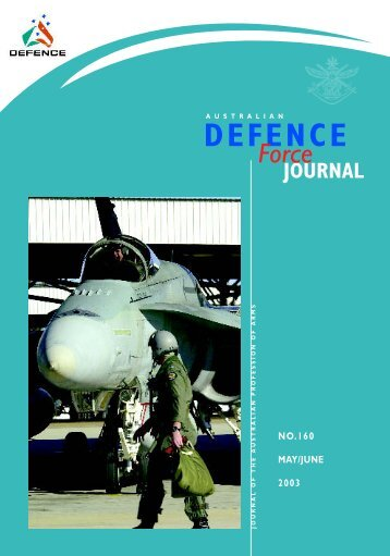 ISSUE 160 : May/Jun - 2003 - Australian Defence Force Journal