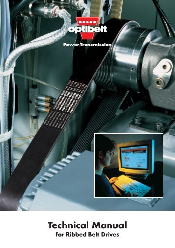 Technical Manual for Ribbed Belt Drives