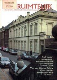 Ruimtelijk dec. 2000 - Stichting Ruimte Roermond