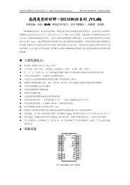 SD2300RAM SD2300RAM 系列(V1.40) - 深圳市兴威帆电子技术有限 ...