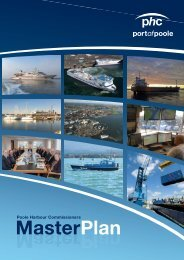 Master Plan - Poole Harbour Commissioners
