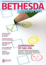 BETHESDA Ärzteforum 2012/2