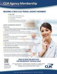 Get PDF application - Cruise Lines International Association