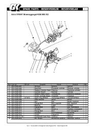Artnr 570047 Strømaggregat KGE 800 X/2