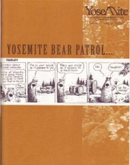 Yosemite Bear Patrol . . . on the Trail of Ursus ... - Yosemite Online