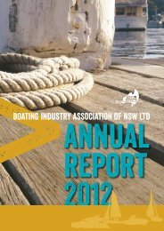 Download our Annual Report 2012 now (pdf format). - Boating ...