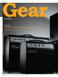 Guitar Player Review - Ampeg