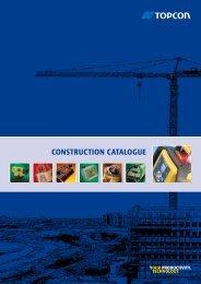 Catalogue Laser English - Topcon Positioning
