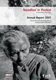 3TEADFAST - World Organisation Against Torture