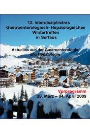 04. April 2009 - gastroenterologie-wintertreffen.at