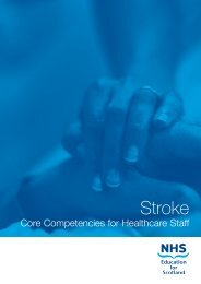NHS Stroke CC A6 booklet - Chest Heart & Stroke Scotland
