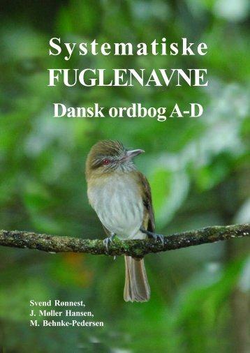 Ordbog A-a - Dansk Ornitologisk Forening