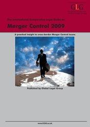 Merger Control 2009 - Morais Leitão, Galvão Teles, Soares da Silva ...