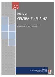 KWPN CENTRALE KEURING