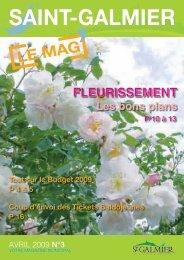 Le Mag N°3 - Site officiel - Mairie de Saint-Galmier