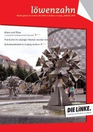 Löwenzahn Nr. 3/2013 - DIE LINKE. Fraktion im Stadtrat zu Leipzig