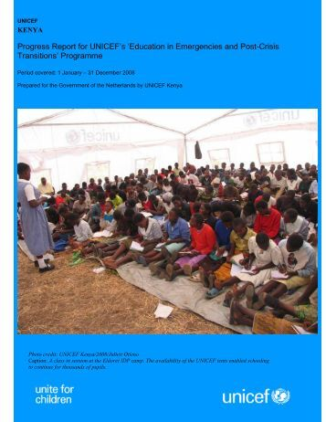 Kenya Progress Report