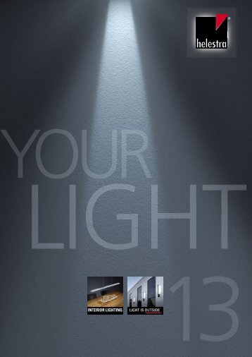 Helestra Your Light 2013 - Halo Lighting