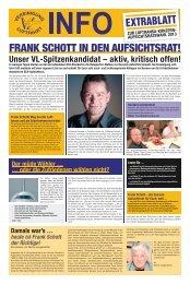 FRANK SCHOTT IN DEN AUFSICHTSRAT! - Vereinigung Luftfahrt eV