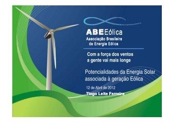 Energia Eólica A - Cogen