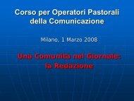 Andrea Rivetta - Chiesa di Milano