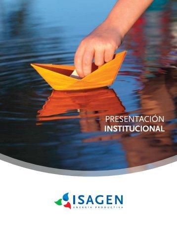 Presentación institucional español 2013 - Isagen