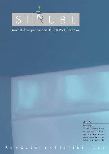 Produktionsprozesse Produktgestaltung - Strubl KG