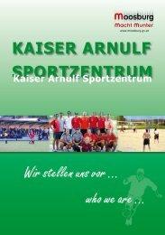 Kaiser Arnulf Sportzentrum - Marktgemeinde Moosburg