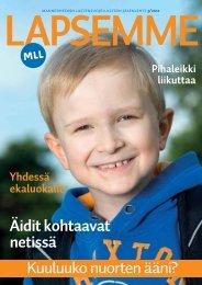 Lapsemme 3/12 - Mannerheimin Lastensuojeluliitto