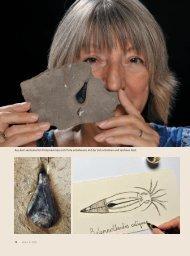 Mit Tinte aus der Urzeit schreiben - Ethos
