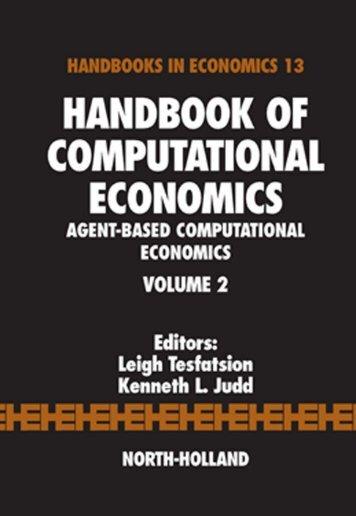 handbook of computational economics volume 2 agent-based ...