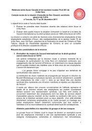 lire ici le compte-rendu de la mission d'enquête - IUF