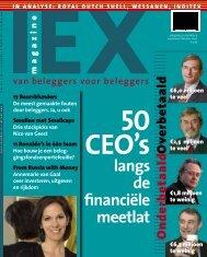 langs de financiële meetlat - Iex