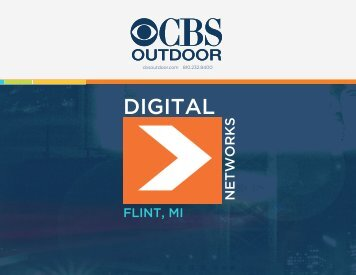 Flint Digital Media Kit - CBS Outdoor