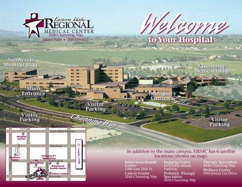 EIRMC Map - Eastern Idaho Regional Medical Center