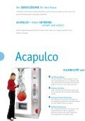 Prospekt Acapulco - Selecta Deutschland GmbH - Page 2