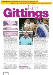 to download pdf - Fletcher Sport Science
