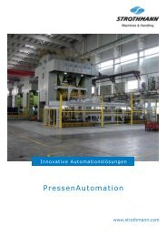 Prospekt PressenAutomation (PDF) - Strothmann