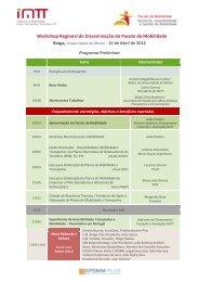 Programa do Workshop de Braga - Imtt