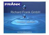 Firmenportrait - Richard Frank GmbH