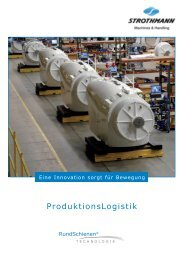 Prospekt ProduktionsLogistik (PDF) - Strothmann