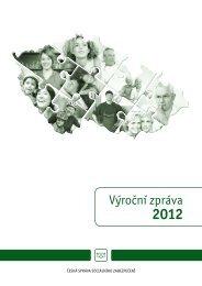 Výroční zpráva 2012 - Česká správa sociálního zabezpečení