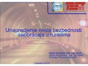 8. Унапређења нивоа безбедности саобраћаја у тунелима