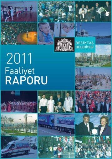 2011 Faaliyet Raporu için Tıklayınız. - Beşiktaş Belediyesi