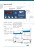 Laminar Flow Clean Benches, Horizontal and Vertical - Esco - Page 3